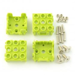 Grove - osłona modułów 1x1 4-pak - zielona