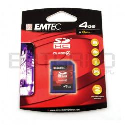 Karta pamięci Emtec SDHC SD 4GB klasa 4