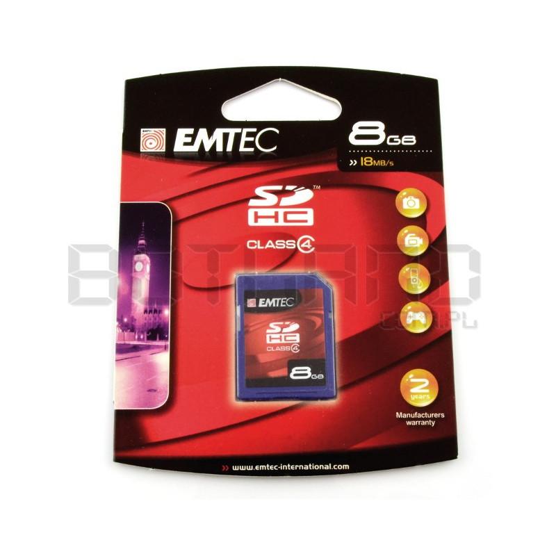 Karta pamięci Emtec SD / SDHC 8GB klasa 4
