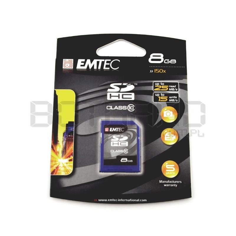 Emtec SD / SDHC 8GB class 10 memory card