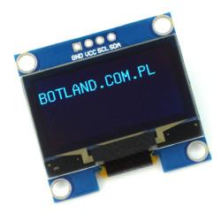 Wyświetlacz OLED niebieski graficzny 1,3'' 128x64px I2C- zgodny z Arduino