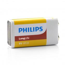 Bateria Philips LongLife 6LF61 9V