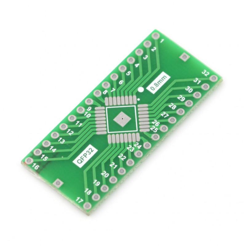 Adapter PCB - QFP32 to DIP_