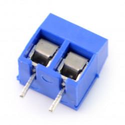Złącze ARK raster 5mm 2 pin (+)