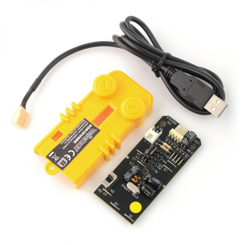 Interfejs USB do ramienia robota Velleman KSR10