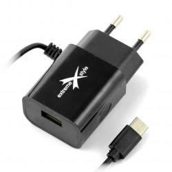 Zasilacz eXtreme Ampere ATCCU24B USB typ C + USB 2,4A