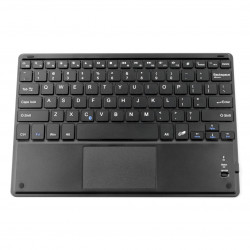 "Wireless keyboard with touchpad - black 11"" - Bluetooth 3.0"