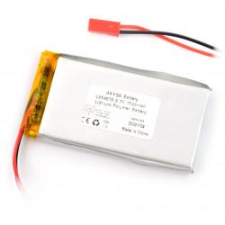 Akumulator Li-Pol Akyga 1500mAh 1S 3.7V - złącze JST-BEC + gniazdo