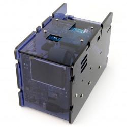 CloudShell 2 Case 2 dla Odroid XU4 - elementy do budowy serwera plików NAS - niebieski