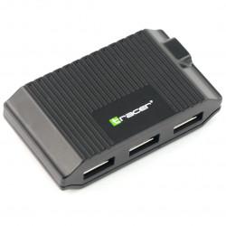 Czytnik kart pamięci All-in-one Tracer + Hub USB CH3