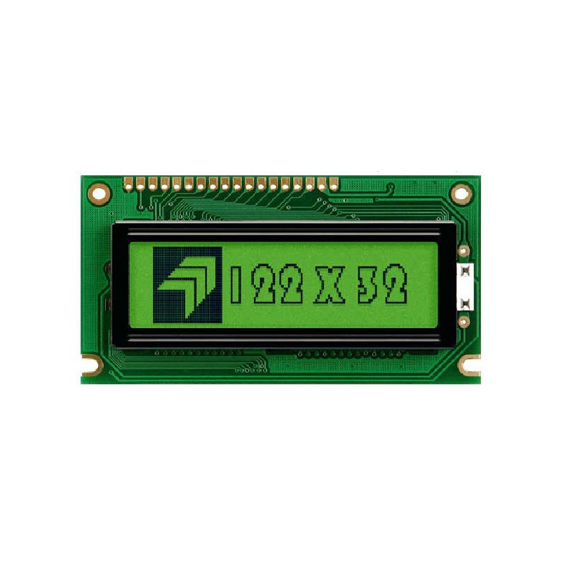 Graphic display 122x32 green - LGMFD12232G6YLY_