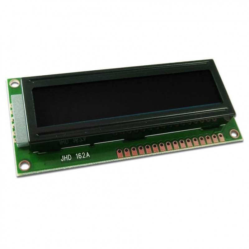 LCD display 2x16 black and white characters_