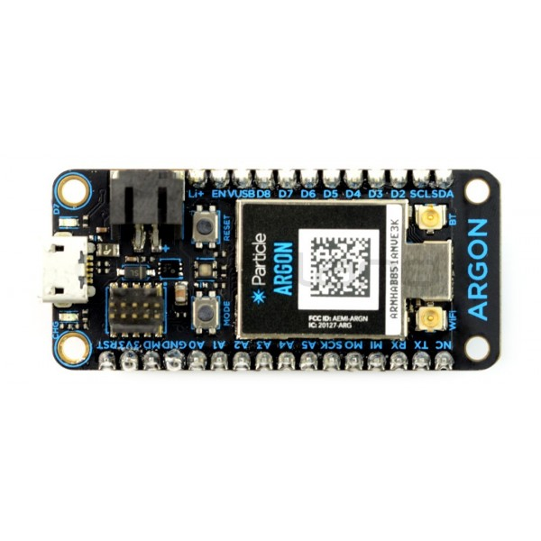 Particle - Argon nRF52840 WiFi + Mesh + Bluetooth_