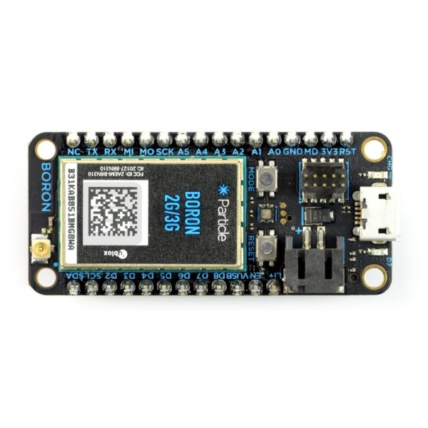 Particle - Boron 2G/3G KIT - nRF52840 LTE + Mesh+ Bluetooth