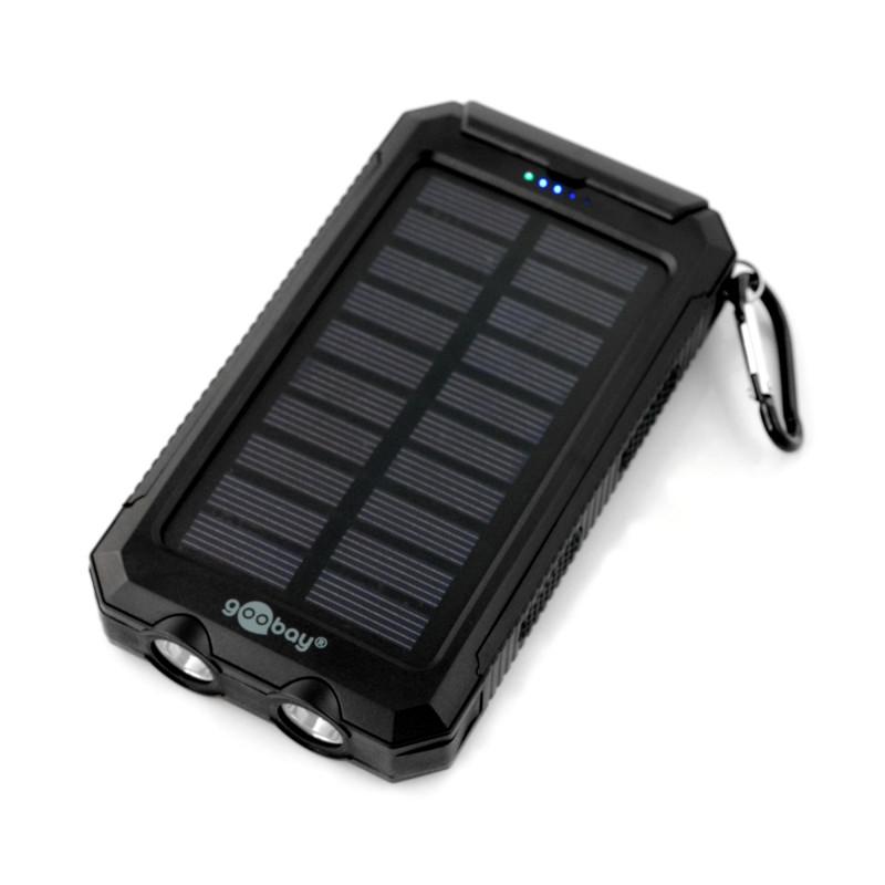 Mobilna bateria PowerBank Goobay 8.0 49216 outdoor - 8000mAh - czarny