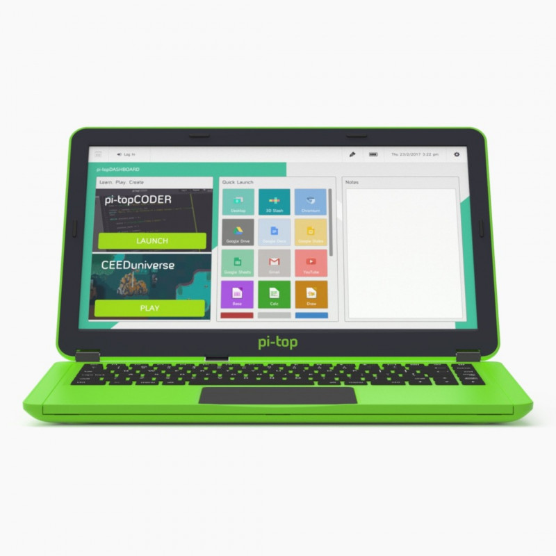 Pi-Top - laptop modułowy v2 dla Raspberry Pi 3B+