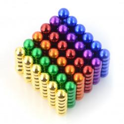 Kulki magnetyczne Neocube 5mm - kolorowe