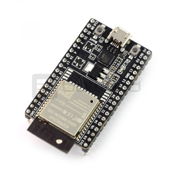 ESP32-DevKitC-32D WiFi + BT 4 2 - platform with the module ESP-WROOM-32D*