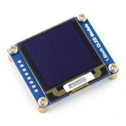 Wyświetlacz OLED biały graficzny 1,5'' 128x128px SPI/I2C