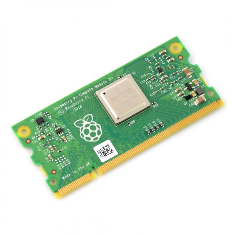 Raspberry Pi CM3+ Compute Module 3+ - 1.2GHz, 1GB RAM + 16GB eMMC
