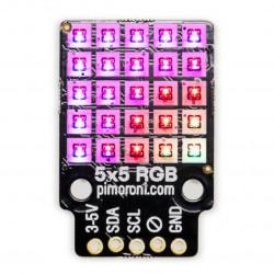 PiMoroni IS31FL3731 - matryca LED RGB 5x5 I2C