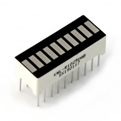 LED Display - 10-segment - amber