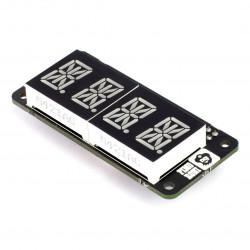 PiMoroni - moduł 4x wyświetlacz 14-segmentowy I2C dla Raspberry Pi