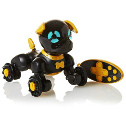 WowWee Chippies - mini robopiesek - czarny Chippo