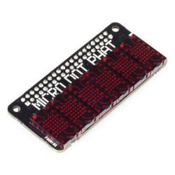 PiMoroni Micro Dot pHAT - 6 znakowa matryca LED 5x7 - nakładka dla Raspberry Pi - czerwona