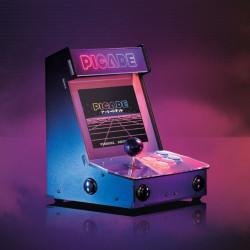 """Picade Arcade Machine - retro automat - nakładka + akcesoria dla Raspberry Pi 3B+/3B/2B/Zero - wyświetlacz 8"""""""