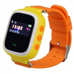 Zegarek dla dzieci z lokalizatorem GPS - pomarańczowy
