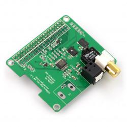 HiFiBerry Digi+ pro - karta dźwiękowa do Raspberry Pi 3/2/B+/A+