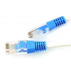 Network Ethernet RJ45 Cat5E UTP 1,5m - white