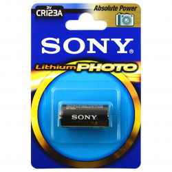 Bateria litowa Sony - CR123 1400 mAh
