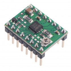 Pololu STSPIN820 Stepper Motor Driver Carrier with headers
