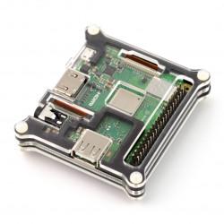 Obudowa Raspberry Pi 3 Model A+ czarna - 5 warstw