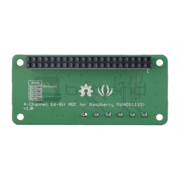 Grove ADS1115 - 4-channel 16-bit ADC for Raspberry Pi*