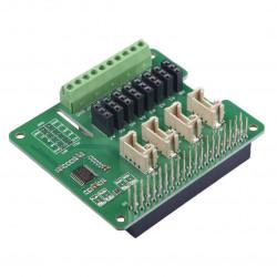 Grove - przetwornik ADC 12-bitowy - 8-kanałowy STM32F030 - nakładka dla Raspberry Pi