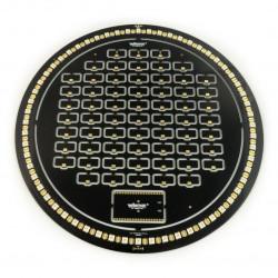 Zestaw zegarowy Brightdot - czarny