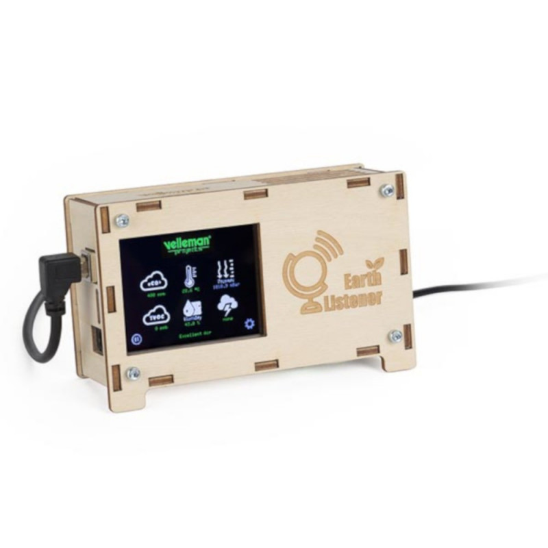 Earth Listener - weather station - Velleman VM211 - kit*