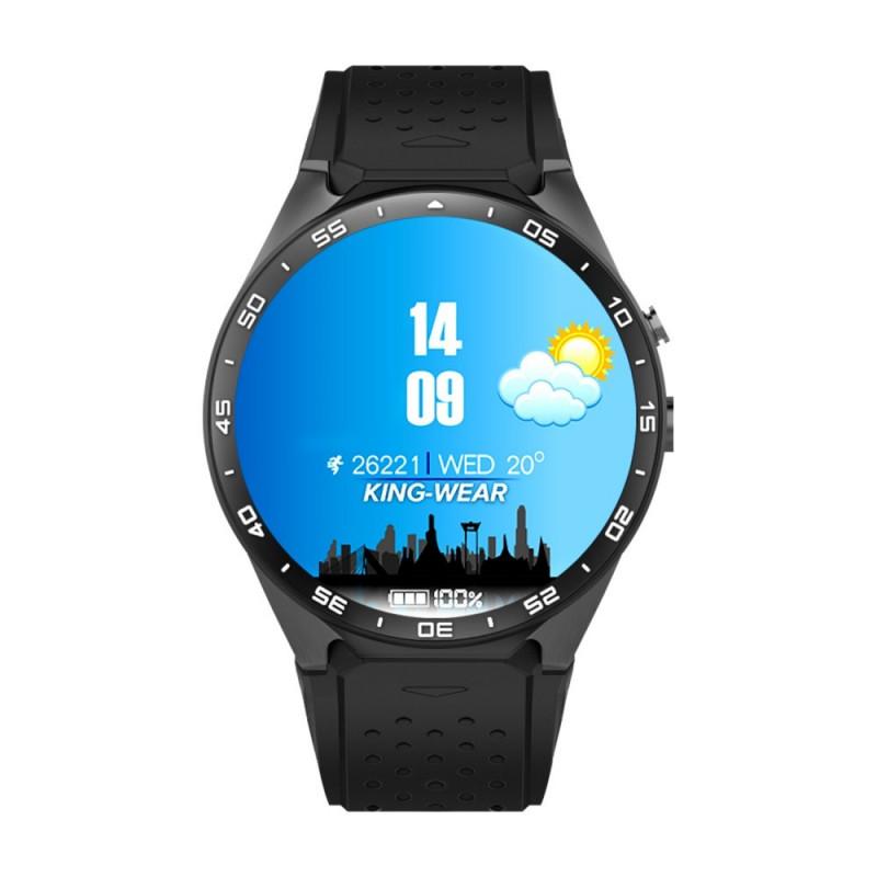 Smartwatch KW88 - czarny - inteligentny zegarek
