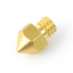 Dysza 0,4mm MK8 - filament 1,75mm - miedź