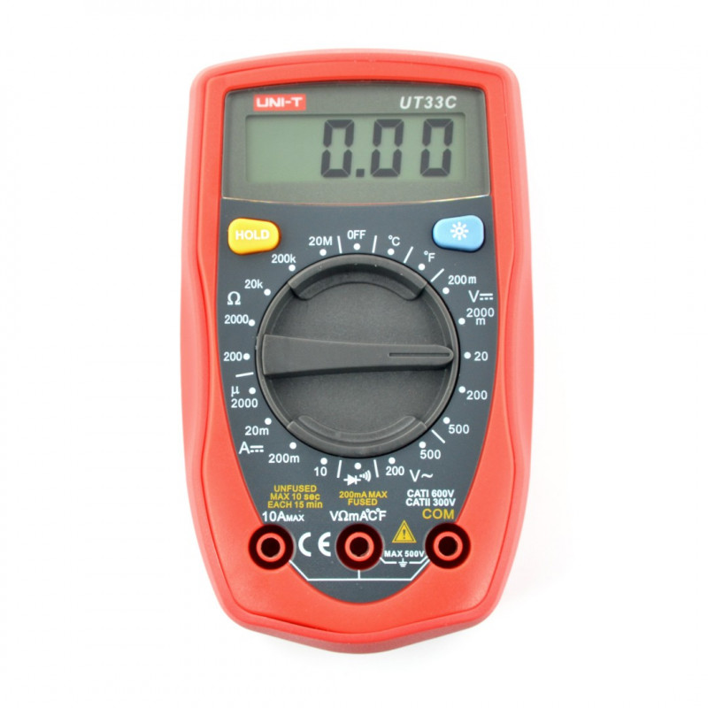 Universal multimeter UNI-T UT33C_