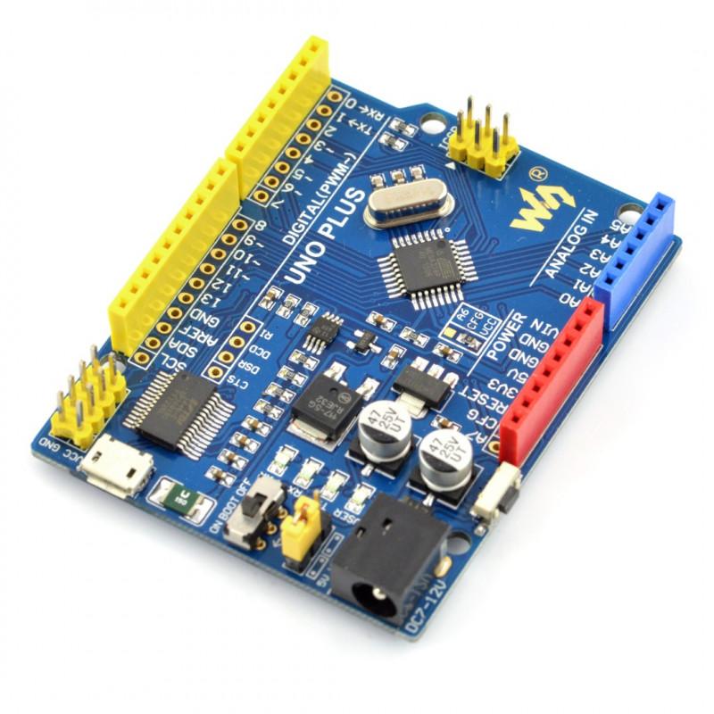 Uno Plus - kompatybilny z Arduino - Waveshare 10205