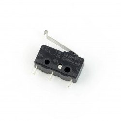 Wyłącznik czujnik krańcowy mini zakrzywiony - WK622