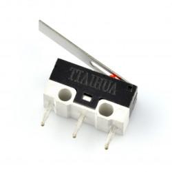 Wyłącznik czujnik krańcowy mini z dźwignią prostą - WK330