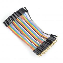 F-M Cable - 10cm - 40pcs