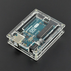 Obudowa do Arduino Uno - przezroczysta slim v2