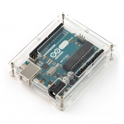 Arduino Uno Box - Clear Slim