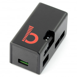 Obudowa do Raspberry Pi Zero z JustBoom Amp Zero - czarna
